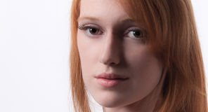 Pretty Redhead Royalty Free Stock Images