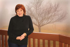 Pretty Redhead Stock Photography