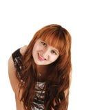 Pretty redhead girl. Stock Image