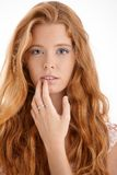 Pretty redhead portrait Royalty Free Stock Photography