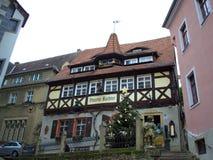 Pretty renaissance building Germany Stock Photos