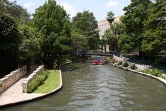 Pretty river walk. In downtown San Antonio, Texas Royalty Free Stock Image