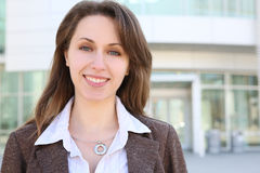 Pretty Russian Business Woman Royalty Free Stock Images