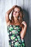 A pretty Russian girl Stock Photo