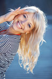 Pretty sailor Royalty Free Stock Images