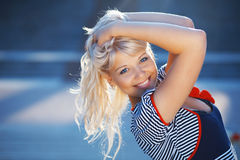 Pretty sailor Stock Photography