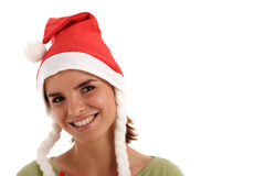 Pretty Santa Stock Photos