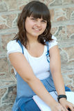 Pretty schoolgirl Stock Photography