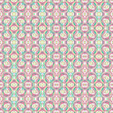 Pretty seamless colorful ethnic pattern. stock image