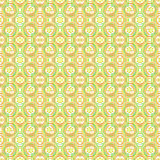 Pretty seamless colorful ethnic pattern. Royalty Free Stock Images