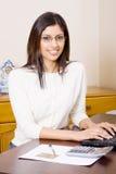 Pretty secretary Stock Photo