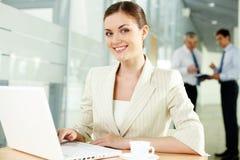 Pretty secretary Stock Images