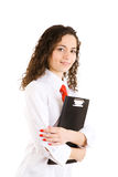 Pretty secretary royalty free stock images