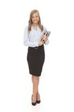 Pretty secretary full size royalty free stock images