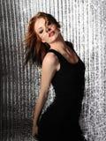 Pretty seductive model woman dancing Royalty Free Stock Photos