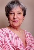 Pretty Senior Lady royalty free stock photography