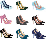 Pretty shoes Stock Photography