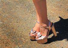 Pretty Shoes stock photos