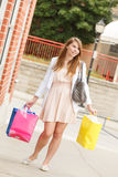 Pretty Shopper Stock Photography