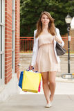Pretty Shopper Stock Photos