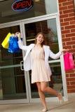 Pretty Shopper Stock Photography