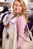 Pretty shopper Stock Images