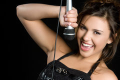 Pretty Singer Stock Photos