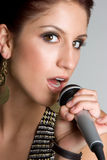 Pretty Singer Stock Images