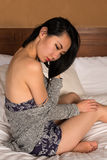 Pretty slender Chinese woman Stock Image