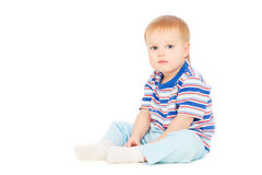 Pretty small boy Royalty Free Stock Images