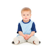 Pretty small boy Royalty Free Stock Image