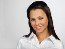 Pretty smile Stock Photography