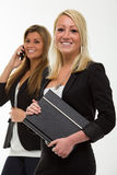 Pretty smiling business woman Stock Photography
