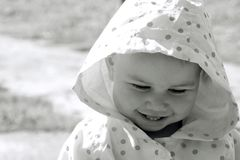 Pretty smiling child Stock Images