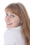 Pretty smiling girl Royalty Free Stock Image