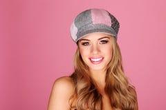 Pretty Smiling Girl Facing Camera Stock Image
