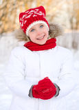 Pretty smiling little girl Stock Photography