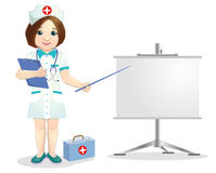 Pretty smiling nurse Royalty Free Stock Images