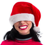 Pretty  smiling Santa Royalty Free Stock Images