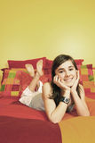 Pretty smiling teenager Royalty Free Stock Photography