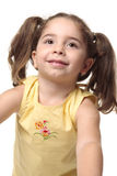 Pretty smiling toddler girl Stock Photo