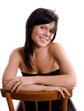 Pretty smiling woman Stock Photography