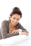 Pretty smiling woman Royalty Free Stock Image