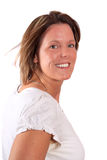 Pretty smiling woman in her thirties Royalty Free Stock Photo