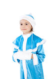 Pretty Snow Maiden Royalty Free Stock Images