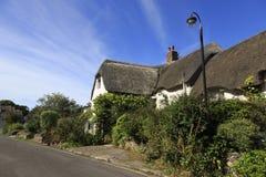 Pretty Somerset village scene Stock Photo