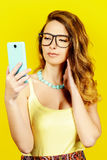 Pretty spectacles Stock Photography