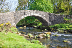 Pretty stone bridge Stock Photography