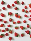 Pretty Strawberry Collage stock photo