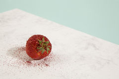 Pretty strawberry sequin Royalty Free Stock Images